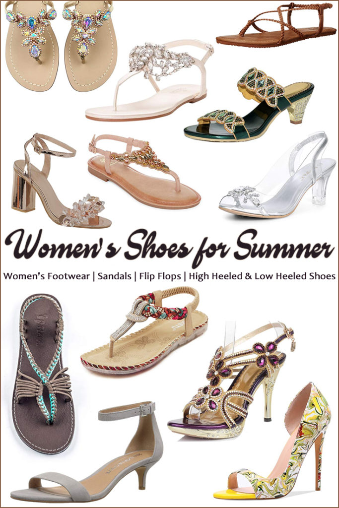 Women's Shoes for Summer Wedges, Sandals, Flip Flops & Metallic Shoes ClickShipNow