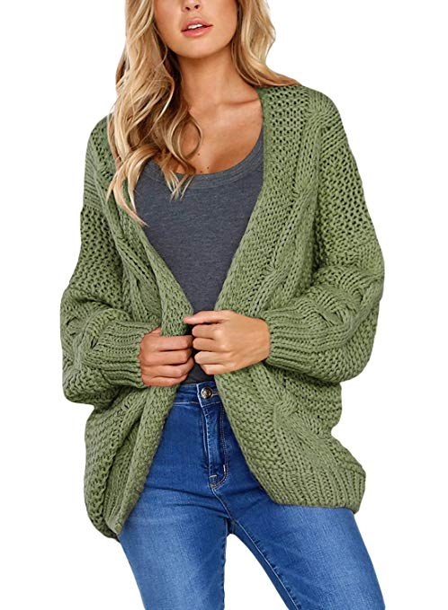 1a33504445 8 Best Chunky Knit Cardigans   Sweaters for Women
