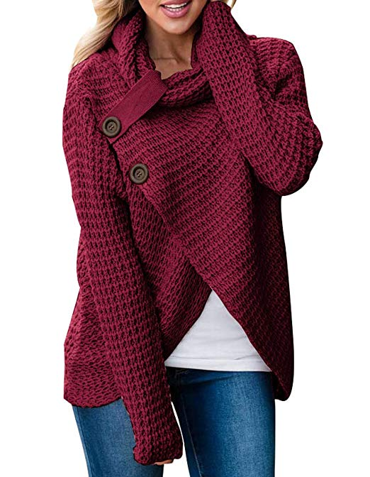 Chunky Knit Cardigans & Sweaters Women's Must-have Fall Outfits, Autumn Street Style ClickShipNow AZ 03
