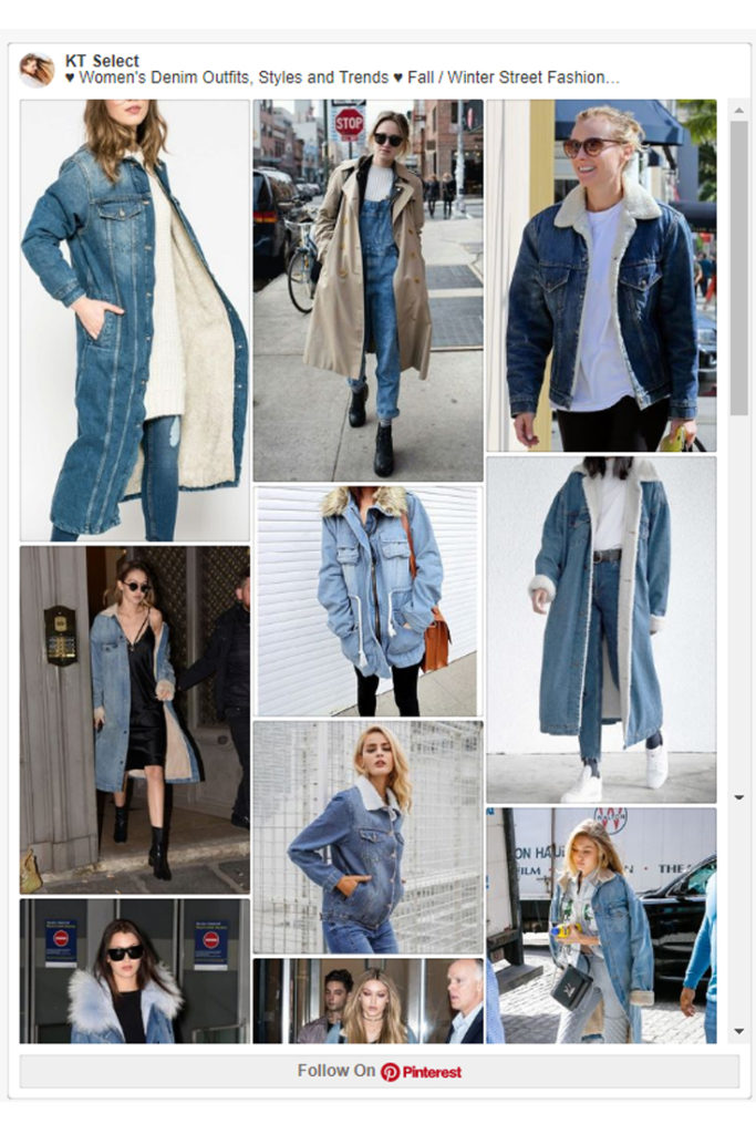 Denim Jackets, Coats & Clothing Women's Must-have Fall Winter Outfits z01
