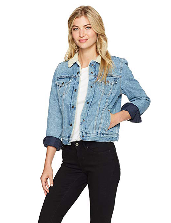 Denim Jackets, Coats & Clothing Women's Must-have Fall Winter Outfits z03