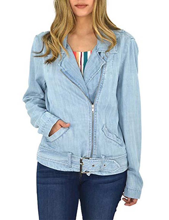 Denim Jackets, Coats & Clothing Women's Must-have Fall Winter Outfits z04