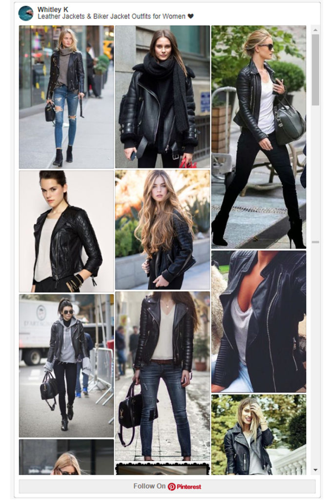 Leather Jackets & Biker Jackets Women's Must-have Fall Winter Outfits z01