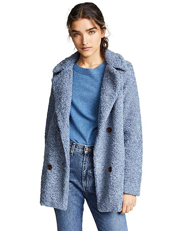 Teddy Bear Coats & Sherpa Jackets Women's Must-have Fall Winter Outfits a02