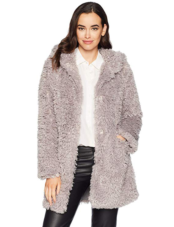 Teddy Bear Coats & Sherpa Jackets Women's Must-have Fall Winter Outfits a04