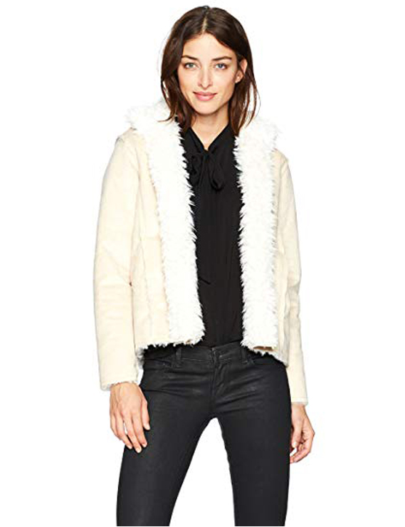 Teddy Bear Coats & Sherpa Jackets Women's Must-have Fall Winter Outfits a08