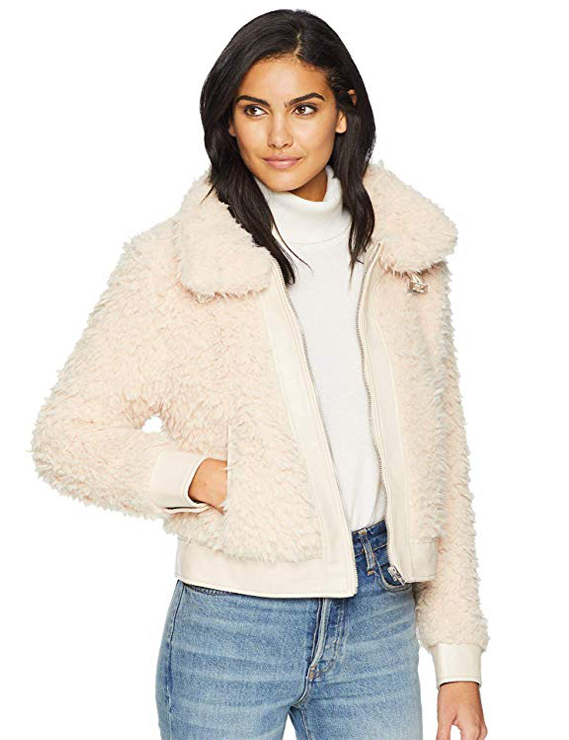 Teddy Bear Coats & Sherpa Jackets Women's Must-have Fall Winter Outfits a09