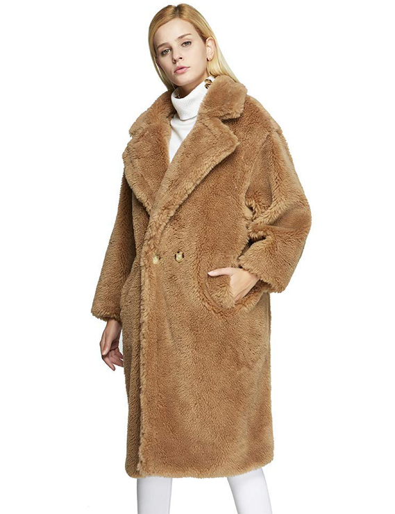 Teddy Bear Coats & Sherpa Jackets Women's Must-have Fall Winter Outfits a10