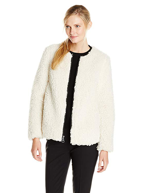 Teddy Bear Coats & Sherpa Jackets Women's Must-have Fall Winter Outfits a11