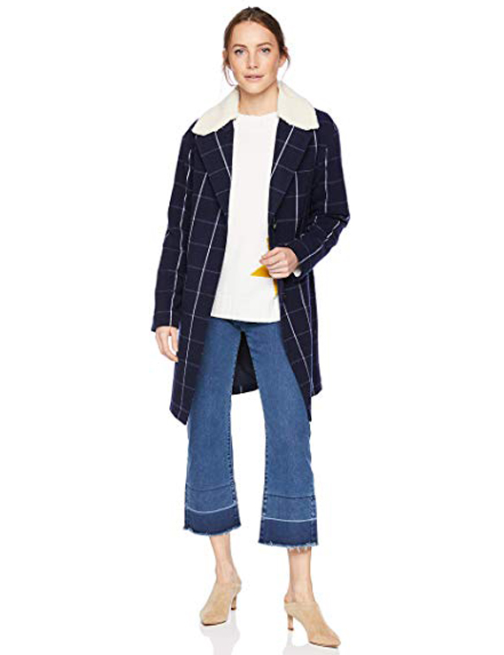 Teddy Bear Coats & Sherpa Jackets Women's Must-have Fall Winter Outfits a13
