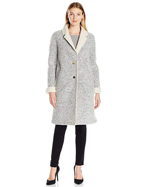 Teddy Bear Coats & Sherpa Jackets Women's Must-have Fall Winter Outfits a14
