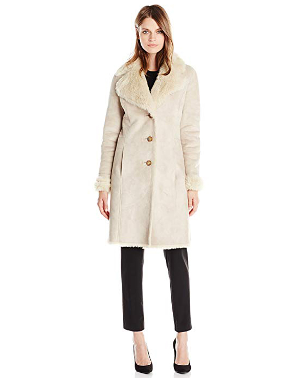 Teddy Bear Coats & Sherpa Jackets Women's Must-have Fall Winter Outfits a15