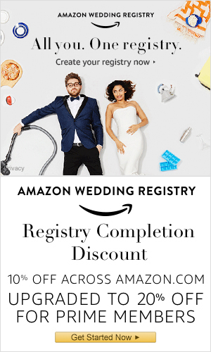 Wedding Gift Registry.Amazon Wedding Registry Guide Review Wedding Gift List